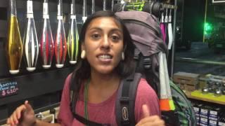 Visitas en tienda malabares-Noemi Vazquez 3er lugar competencia regional de la IJA y Gabriel Aquino