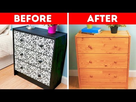 14 DIY FURNITURE IDEAS