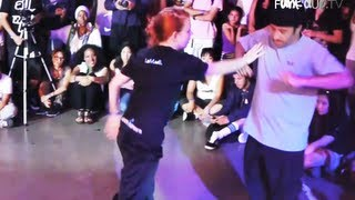 JaJa (I.aM.mE) vs Breeze Lee (SBK) | Freestyle Session 2011 Popping Battles | Funk