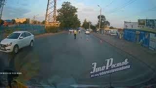 ДТП с участием мотоцикла на Нансена, 85  3 трупа   30 08 18   Это Ростов на Дону