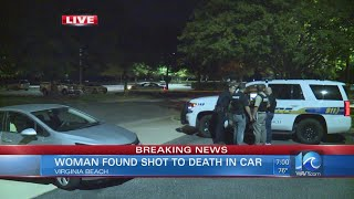 Woman found shot to death in Va. Beach