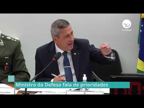 Ministro da Defesa fala de prioridades - 05/05/21