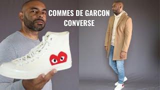 How To Wear Commes De Garcon Converse Chuck Taylors
