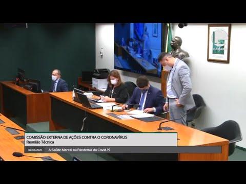 Comissão Externa de Ações contra o coronavírus - Saúde Mental na pandemia da Covid-19 - 02/06/2020