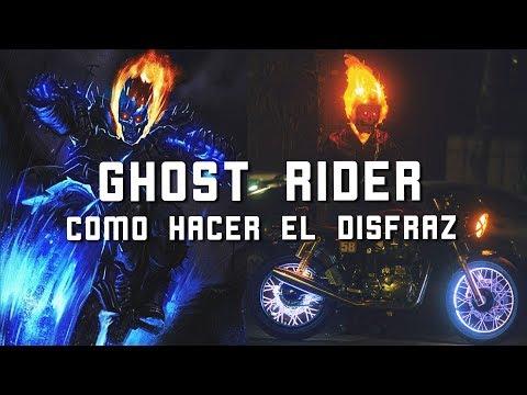 GHOST RIDER DISFRAZ - COMO HACERLO