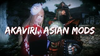 Oblivion 2018 Mod Showcase - Akaviri and Asian Mods