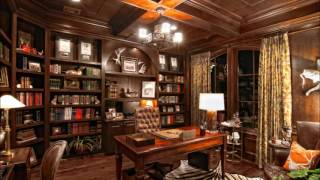 Luxury Home Library Room Decorating Ideas