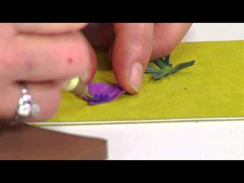 Designing in Susan's Garden with Sizzix Thinlits Hardy Geranium Flower Set