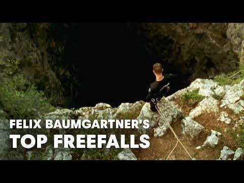 Felix Baumgartner's Top Freefalls
