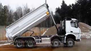 KH-KIPPER │Mercedes-Benz 8x8 W1U Construction Tipping Body