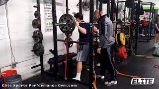 Sam Melnyk 275 lbs Squat with Bands