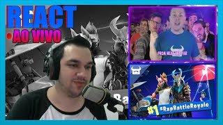 fortnite rap battle royale 100 youtubers reaction - 免费在线