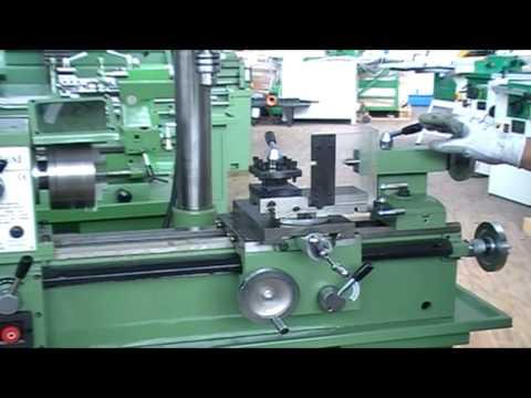 Combinado Torno Fresadora Taladro para Metales modelo Damatomacchine