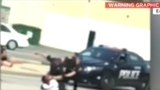 Video Shows Cops Violently Beating Unarmed Black Man!