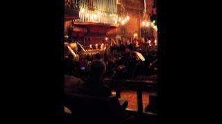 Mark Owen and The Hornsby House Teachers' Choir singing Lantern for the myotubular trust