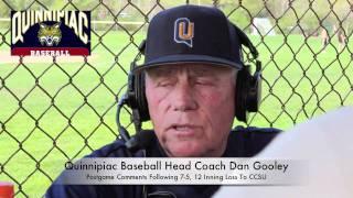 Quinnipiac Baseball vs. CCSU, May 1, 2011; Postgame comments