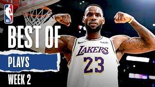 NBA's Best Plays From Week 2   2019-20 NBA Season