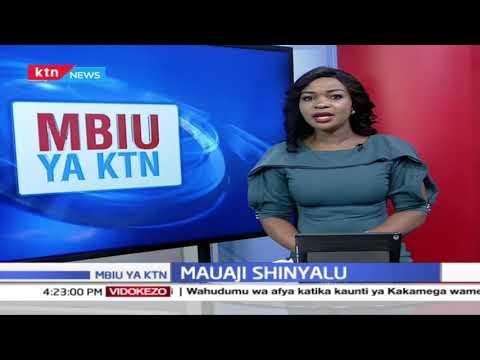 Polisi kizimbani, Azma ya kuwakinga madaktari, Mzozo wa Ardhi, Mauaji Shinyalu | Mbiu ya KTN