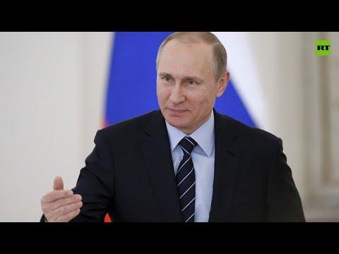 Russian President Putin speaks at virtual WEF Davos Agenda week