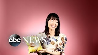 We asked Marie Kondo to fold a bag of potato chips and other random stuff | GMA Digital