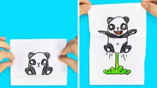 40 WONDERFUL DRAWINGS YOU CAN MAKE YOURSELF