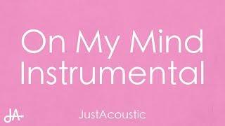 On My Mind   Jorja Smith (Acoustic Instrumental)