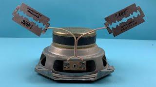 Electric Science Free Energy Using Magnet Speaker 2020