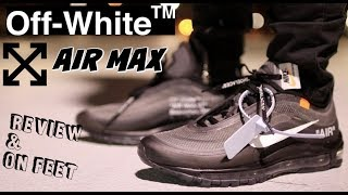 finest selection 34e1d c8730 off white air max 97 review - Free video search site ...
