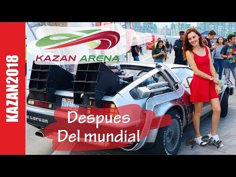 KAZAN ARENA despues del Mundial l Arenaland, DeLorean, Murakami, Ivan Dorn