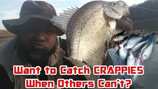 Want To Catch Crappies When Others Can't? Do This! Crappie Town USA Baby