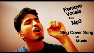 How to get Background Music of any Song without Vocal for Cover Songs | Audacity | PK Talks