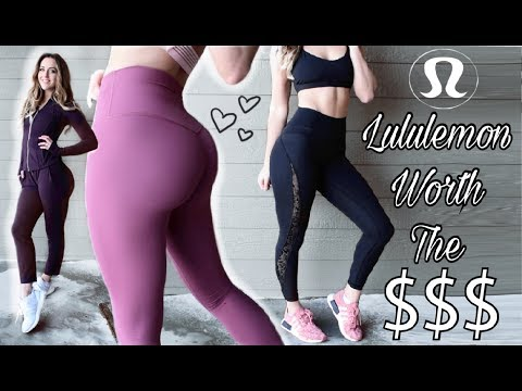 Lululemon Actually WORTH Your Money // Winter Favorites