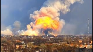 Украинские СМИ заподозрили воровство боеприпасов за взрывами складов