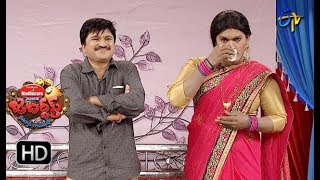 Rocket Raghava Performance | Jabardasth |  9th August 2018 | ETV  Telugu