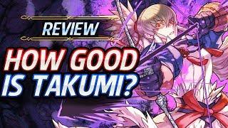 Fire Emblem Heroes - Unit Review: How GOOD is Fallen Takumi? [Analysis  Builds]