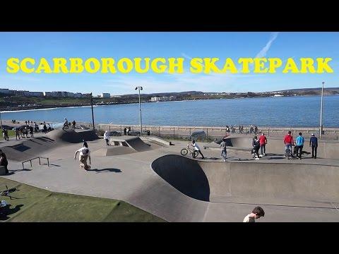 Scarborough skatepark - Hairy bob's ~ Episode 34