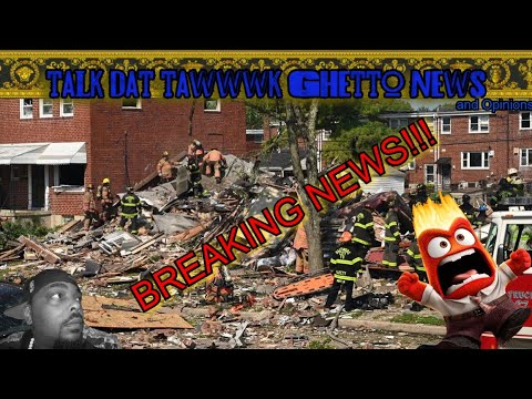 Baltimore EXPLOSION *Footage* one person DEAD!!! adults and children trapped!!!