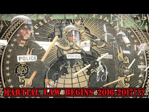 Rise Of The Police State -- Martial Law 2016-2017???