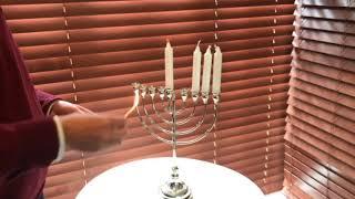 How to light the Menorah by Rabbi Kauffman