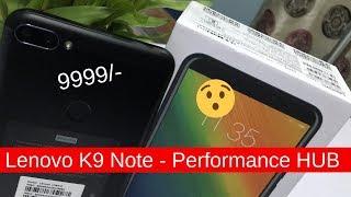 Смартфон Lenovo K9 Note 3/32GB Gold от компании Cthp - видео 2