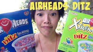 Airheads Ditz Ice Cream Dots - Whatcha Eating? #194