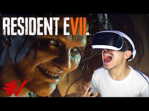 RESIDENT EVIL 7 (VR) Lets Play #1 - EINE ANDERE WELT !! 😱🔥