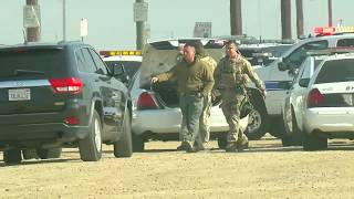 Arvin High School currently on lockdown, person outside with gun, according to KCSO
