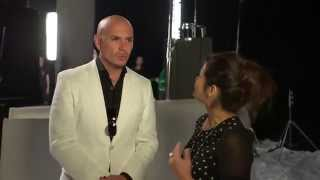 """PITBULL ON DANCING WITH THE STARS"" ( Interview w/ LATINA)"