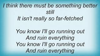 Face To Face - How To Ruin Everything Lyrics