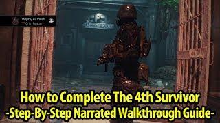 How to Get Grim Reaper Trophy / Achievement Guide - 4th Survivor - Resident Evil 2 Remake