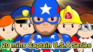 "20 mins Citi Heroes Series 13 ""Captain U.S.A"""