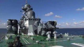 Учения ВМФ РФ ! Реальные запуски Ракет ! Стрельбы !