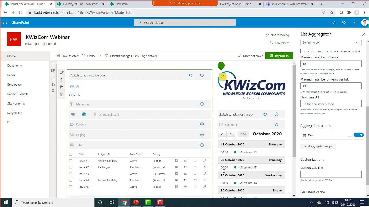 SharePoint data aggregation made simple