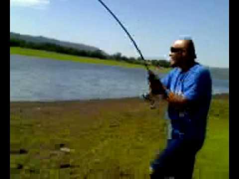 La pesca su un occhio in un gorbatova